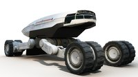 Sci Fi Cargo Vehicle