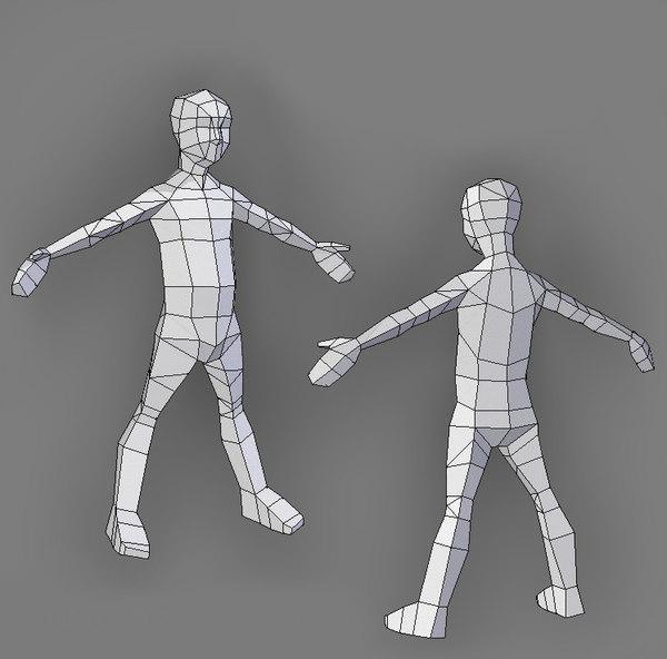 male child 3D model
