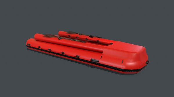 pbr inflatable boat model