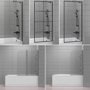 3D shutters baths radaway cersanit