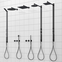 Shower systems and faucets CEA DESIGN set 40