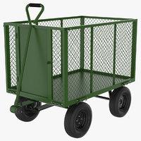 garden cart 3D