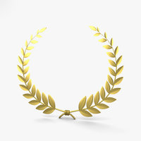 laurel wreath 3D