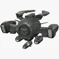sci fi dx mk iv 3D model