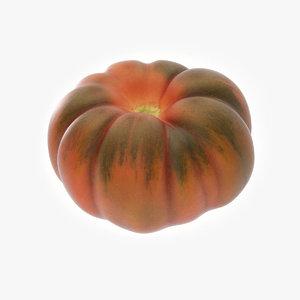 3D tomato zebra model