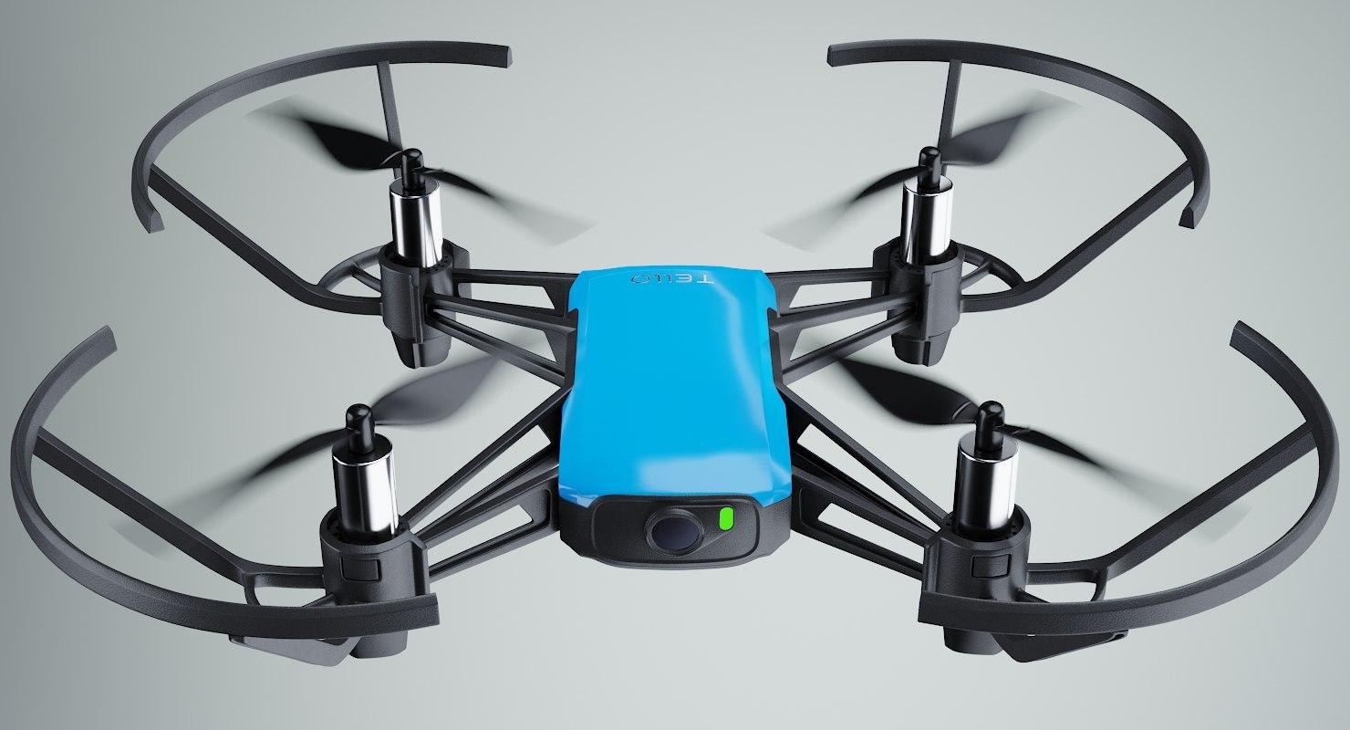 DJI Tello Drone Blue