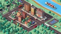 Cartoon Low Poly American  Dream City Pack