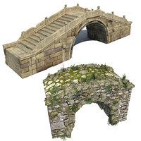stone bridges 3D
