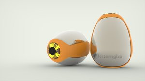 eggy pulse detector 3D model