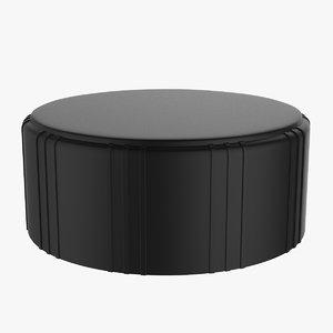 3D knob button