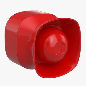 3D alarm speaker