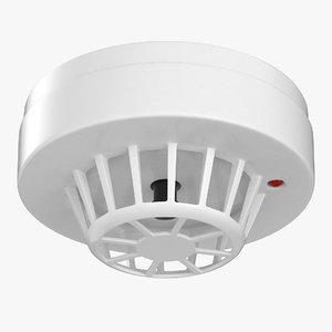 3D model heat detector