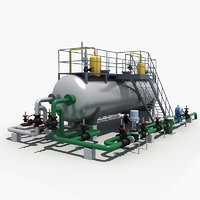 Industrial Three-phase Separator