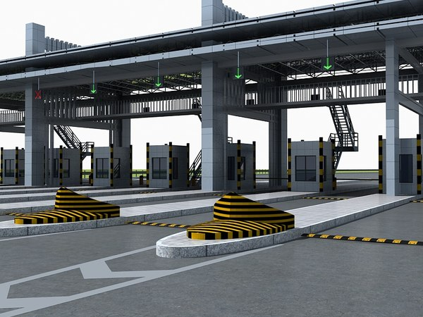 3D toll station