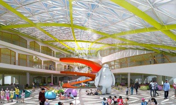 cultural architecture creative center model