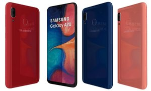 samsung galaxy a20 colors model