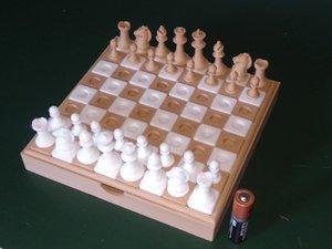 3D travel chess model