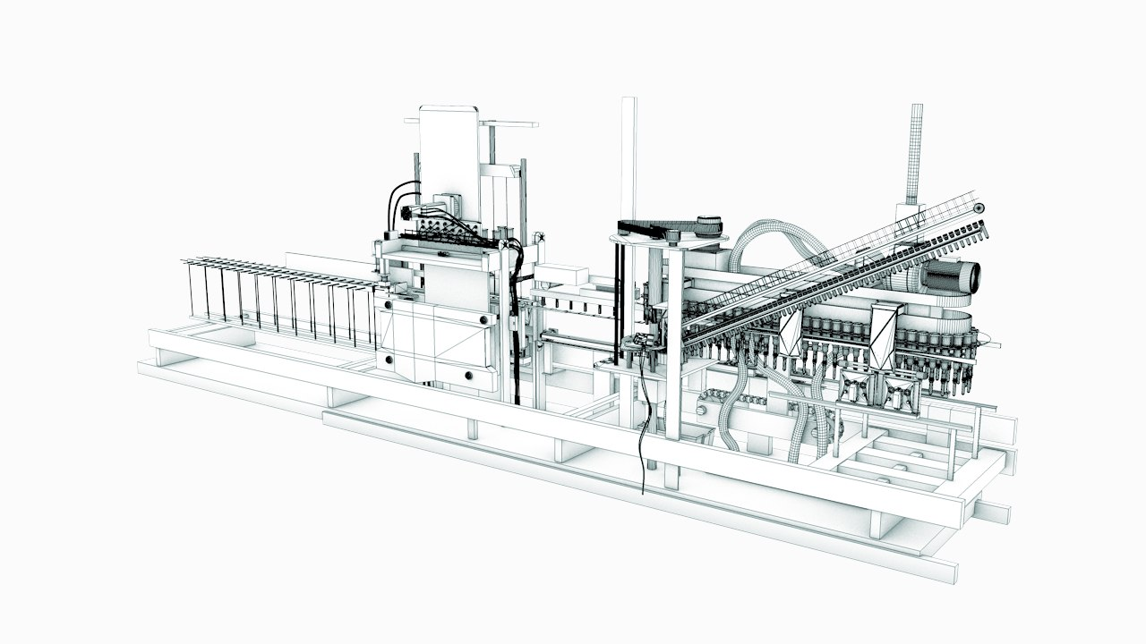 siapi blow molding machine for mineral water production