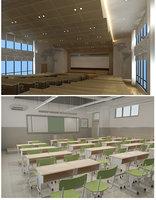 classroom class room 3D