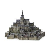scan - mont-saint-michel 3D model