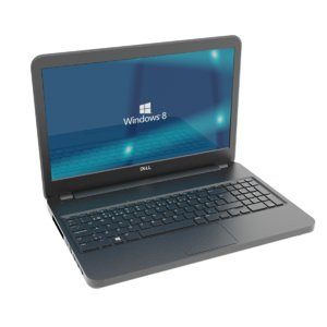 dell laptop 3D model