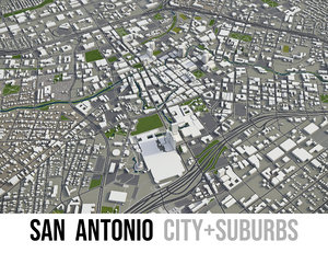 city san antonio surrounding model