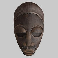 African Mask 105
