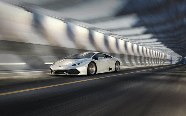 tunnel scene 04 model