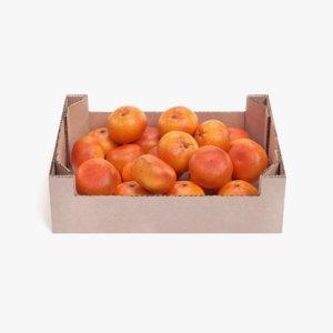 3D model tangerines box