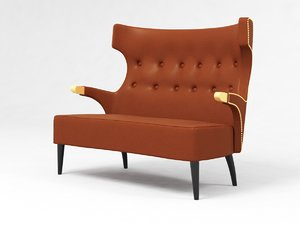 brabbu sika 2 seat 3D model