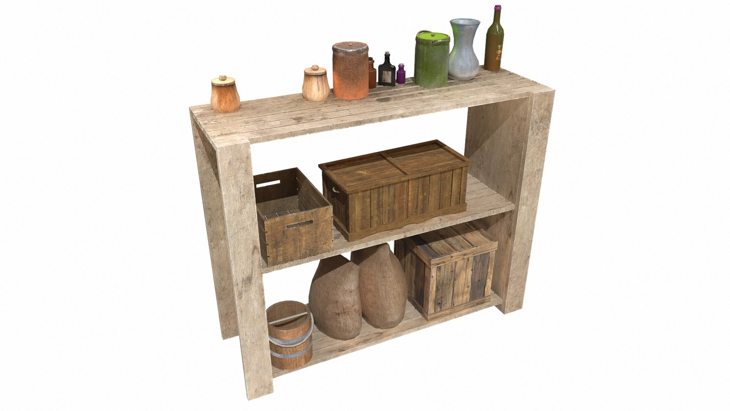 old shelf model