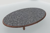 table marble model