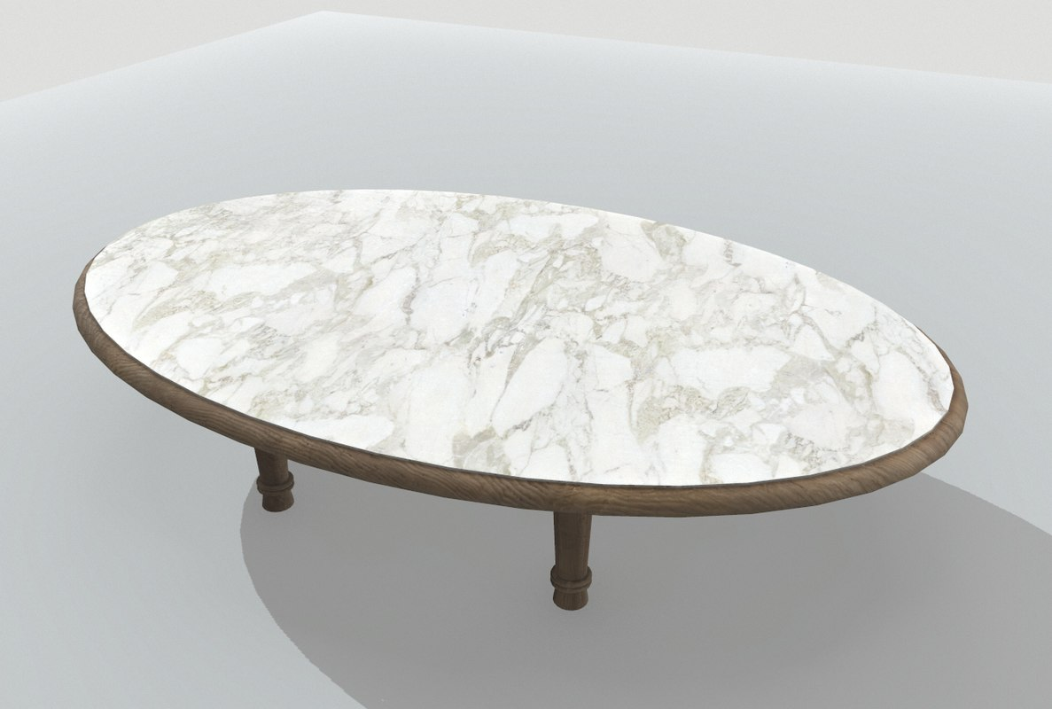 table marble 3D