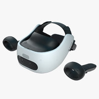 HTC Vive Focus Plus with Controller