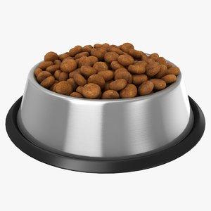 bowl dog food 3D