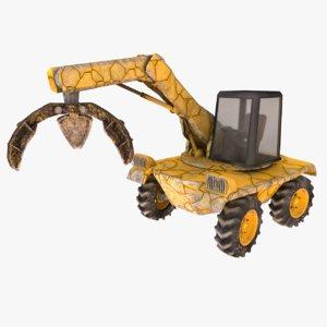 max ladfill machine claws -
