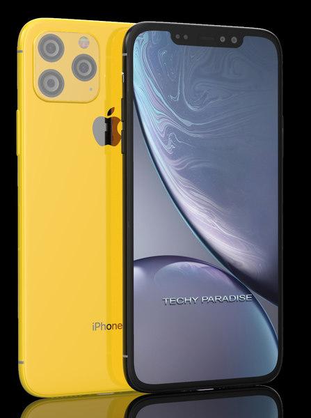 3D iphone 2019 11 model