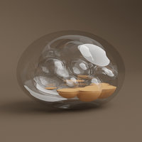 glass sone art 3D model