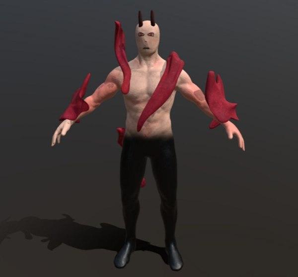 demon human 3D