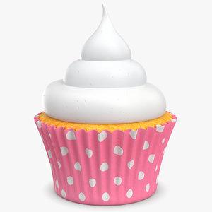 cupcake cake cup 3d max