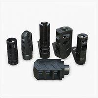 3D muzzle weapon pack model