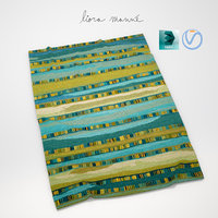 stripe rug 3d 3ds