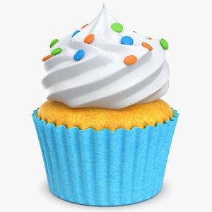 3d model cupcake cake cup