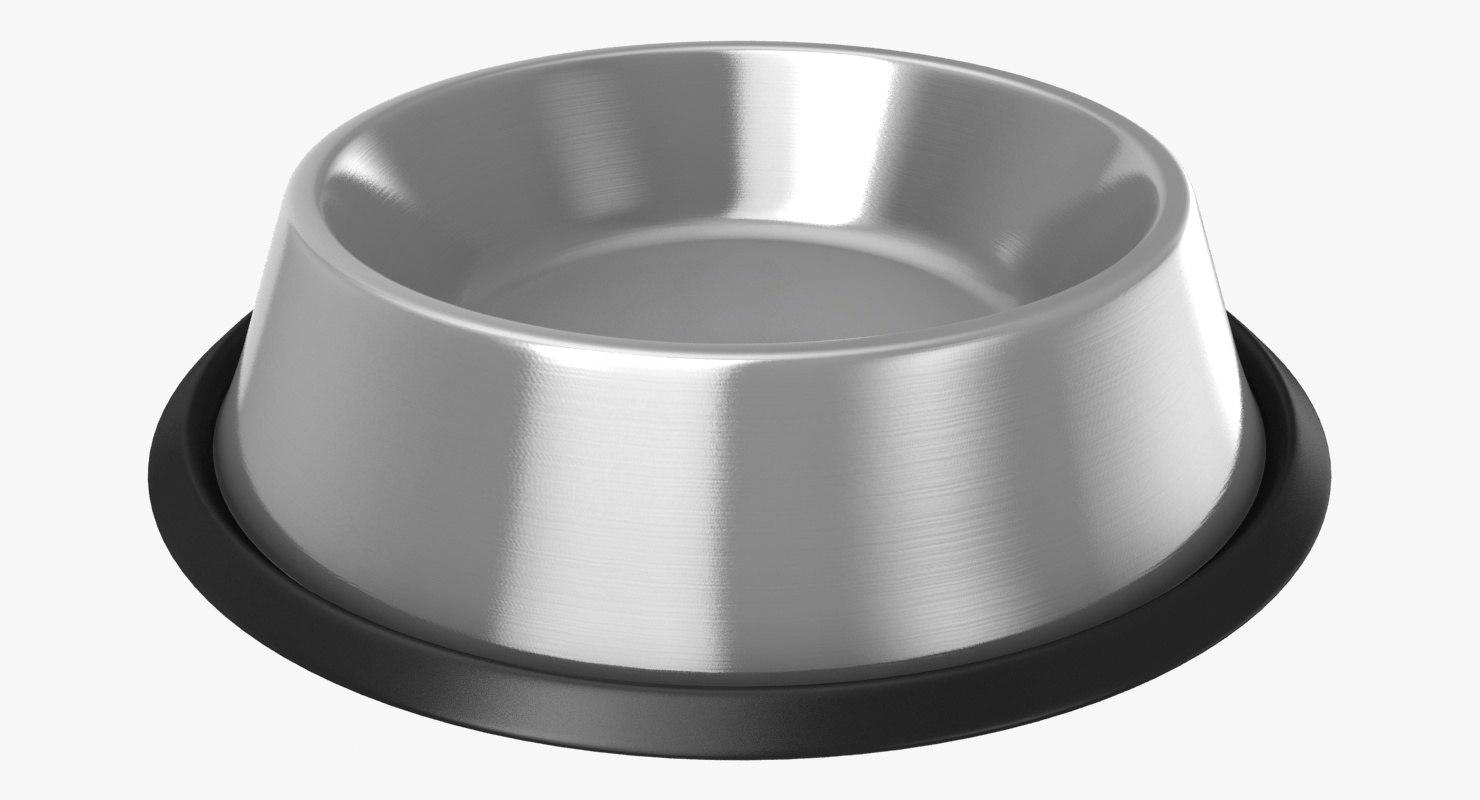 3D dog food bowl model