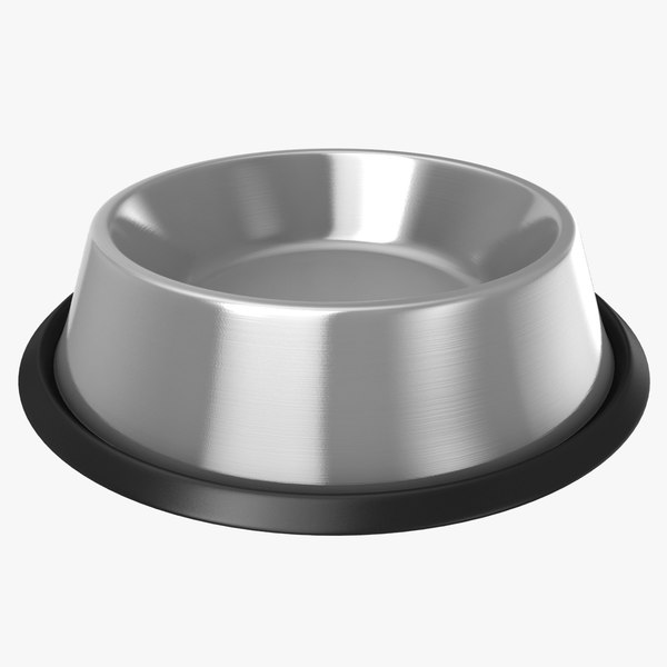 3D dog food bowl model