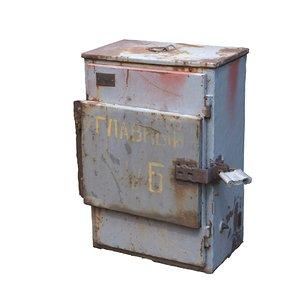 electrical box scan 3D model