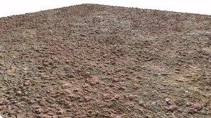 Arid Terain Seamless PBR Texture