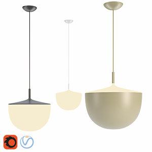 fontanaarte cheshire suspension lamp 3D