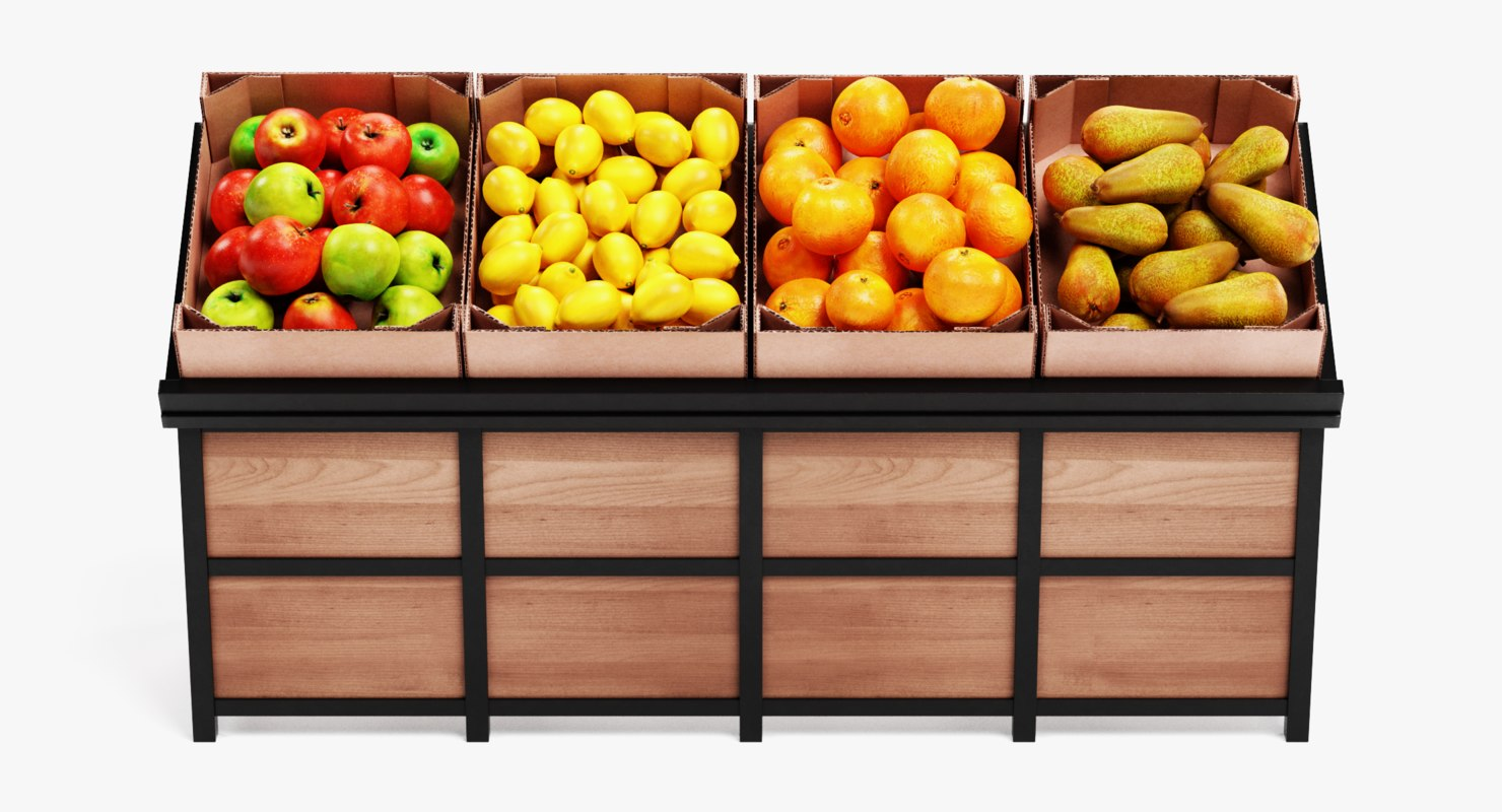 fruit stand model