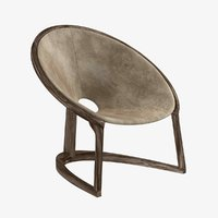 chair yin yang easy 3D model